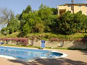 Esterno con Piscina - Agriturismo Casale di Colle