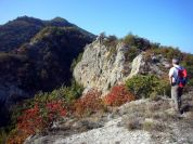 Autumn tour to Mt. Incisa, along Mt. Mauro ring-route