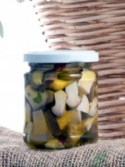King Trumpet Mushrooms in Extra-virgin Olive Oil