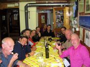 Dinner at Soria Ellena Mountain Hut