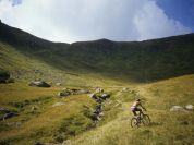 Mountain bike al Passo di Vallestrina