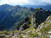 I suggestivi territori attraversati dalla Ledro Alps Trek