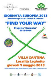 Giornata Europea 2013 - Find Your Way