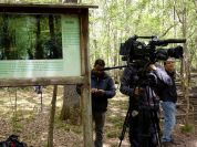 Rai Uno�s historic broadcast �Linea Verde� at Circeo National Park