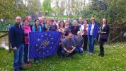 SILE RIVER REGIONAL PARK AUTHORITY HAS WELCOMED THE SLOVENE DELEGATION OF THE LIFE CAPACITY-BUILDING (LIFE14 CAP/SI/000012) PROJECT