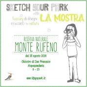 Sketch Your Park, le opere del concorso in mostra