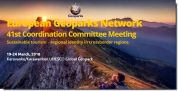 European Geoparks Network - 41° Coordination Committee Meeting