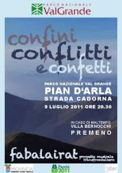 """Confini, Conflitti e Confetti"": Music Performance in Val Grande National Park"