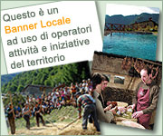 Local Banner for the promotion of the territory