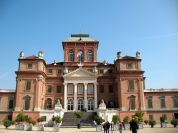 The façade of Racconigi Royal Castle