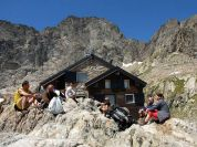 Federici Marchesini Mountain Hut and Maledia Peak
