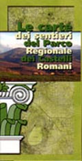 The Map of the Paths of Castelli Romani Regional Park