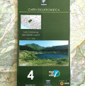 Hiking map of the Cento Laghi Regional Park (scale 1:25.000)