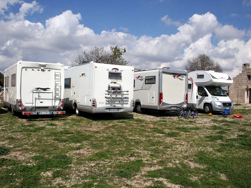 Motorhome area