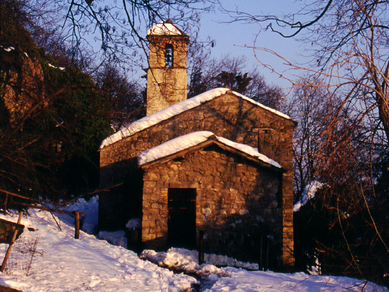 St Anthony the Abbot Oratory in winter