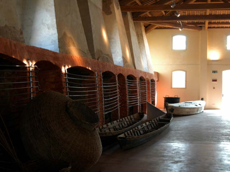 Manufacture of the marinades of Comacchio