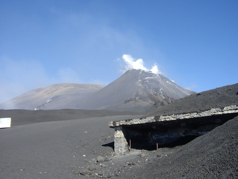 Torre del Filosofo, Southern Etna, base of the mountain craters