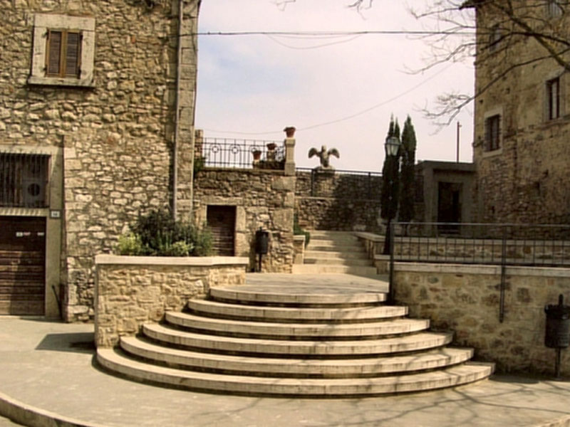 Entrance of the Park Head Offices in Civitella del Lago
