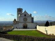 Basilica of St Francis from Assisi