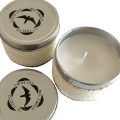 Scented Candle with the Monti Simbruini Park Logo