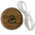 Wireless Charger with Monti Simbruini Park Logo
