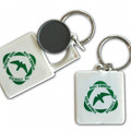 Key ring of Parco Naturale Regionale Monti Simbruini including the token for the shopping cart