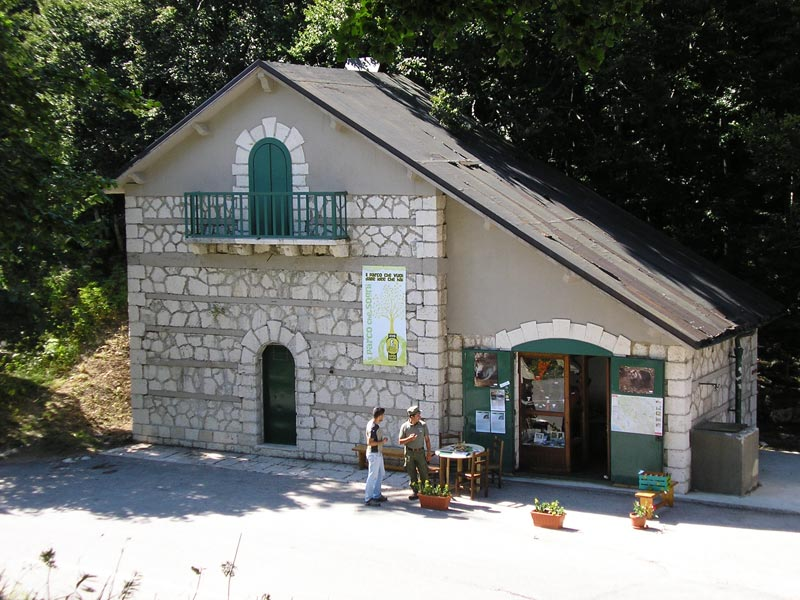 Visitor Center and Info Point in Forca D'Acero