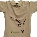 Cotton piqué polo shirt for women of the Gran Paradiso National Park