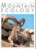 Journal of mountain ecology