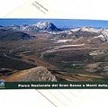 Postcard Campo Imperatore and Corno Grande