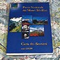 Map of Paths Monti Sibillini National Park - scale 1:50000 (Italian edition)