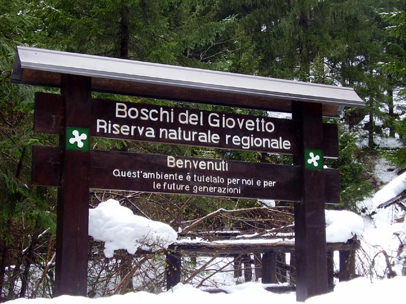 Entrance of the Nature Reserve