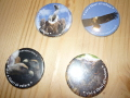 Magnets and pins of the Lago di Cornino Nature Reserve