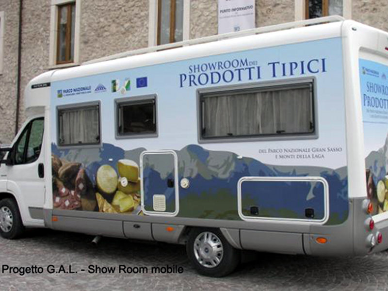 Progetto GAL: Show room mobile