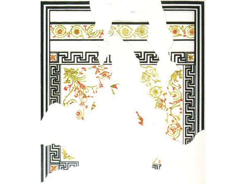 Mosaic floor of the southern triclinium of the Domus of the mosaics