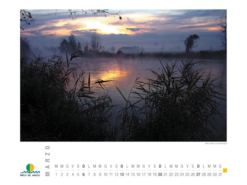 Calendario 2011 - Marzo