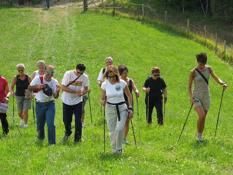 Nordic Walking in Portofino Park