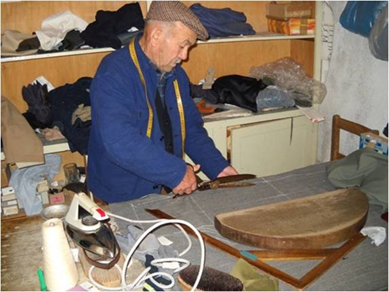 Ancient professions: tailor