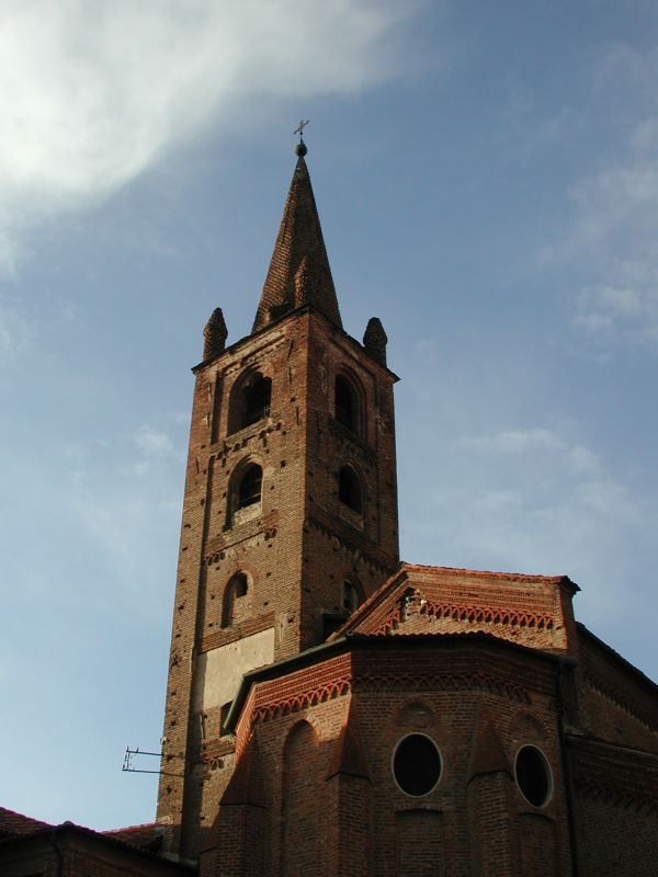 San Domenico belltower in Carmagnola