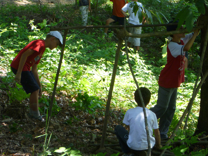 Young Park Keepers working