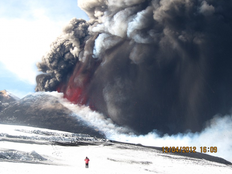 Etna activity of 12.4.2012