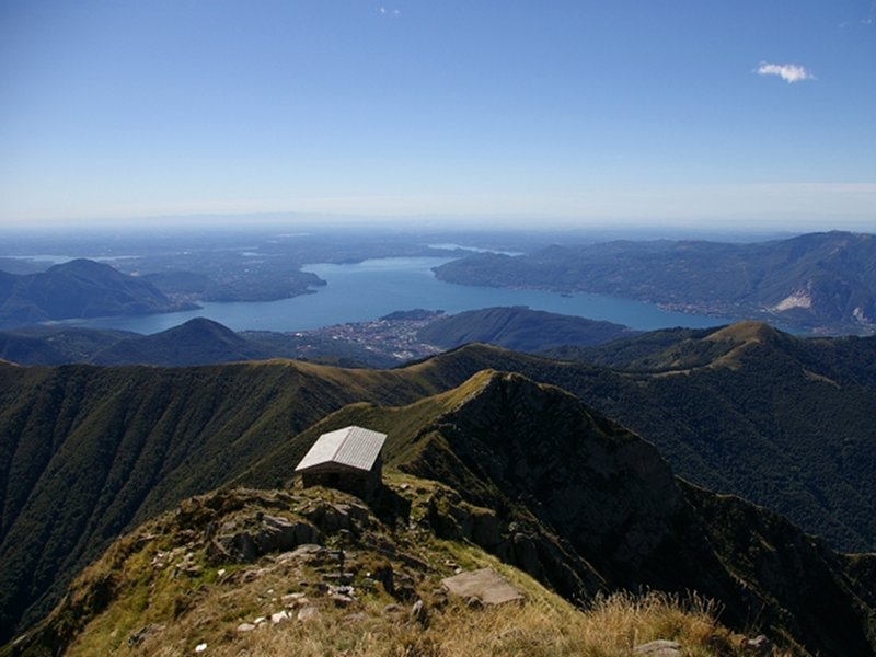 Maggiore Lake from Pizzo Marona