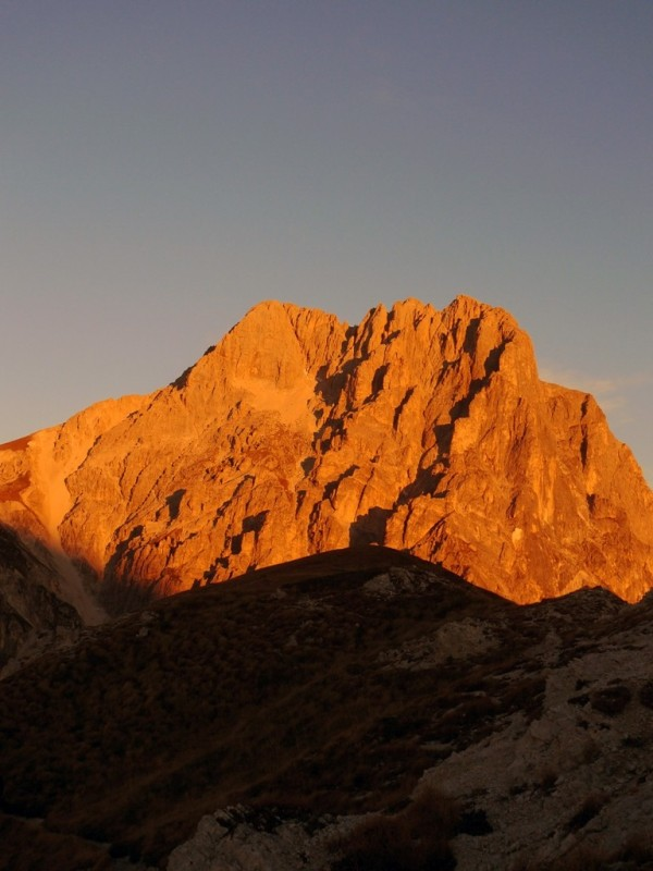 Sunset on Gran Sasso