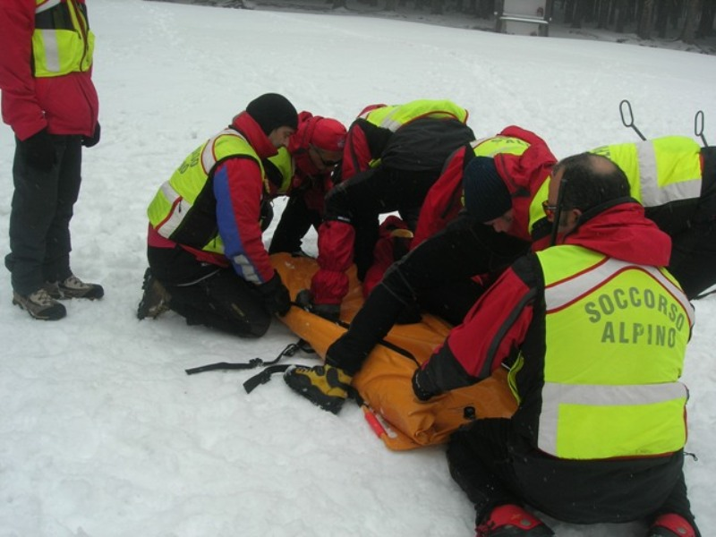 Hike and apine rescue exhibition