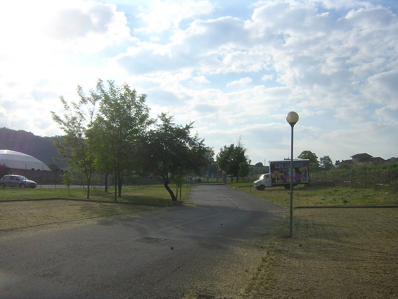 RV parking area in Amandola