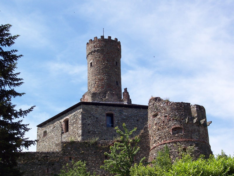 The Castle in Campo Ligure