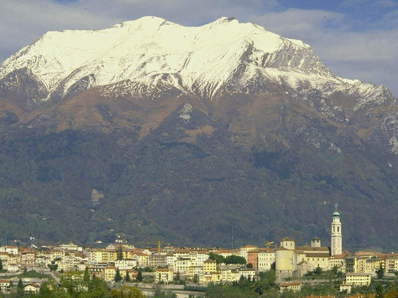 Mount Serva from Belluno