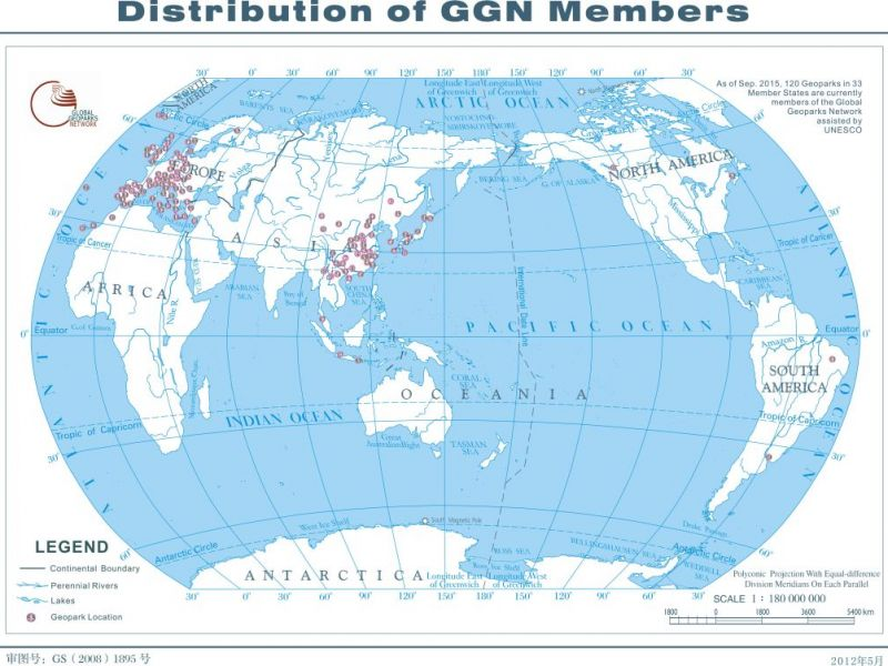 GGN Geoparks Members