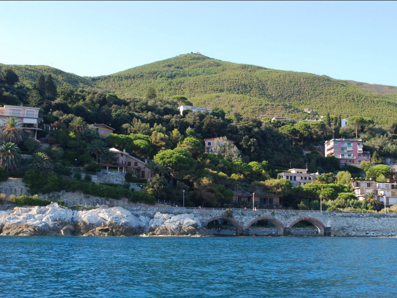 15th stage of: Liguria path - Arenzano – Varazze