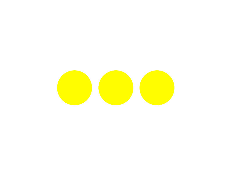 Trail marker: itinerary Masone - Cascina Troia - Bric Di Saliera (three yellow balls in line)